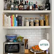 Organised Shelves