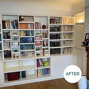 Organised Bookcase