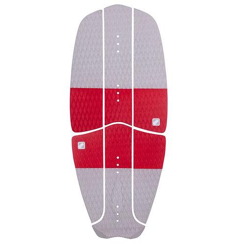 Deck+Tail pad kitesurf board