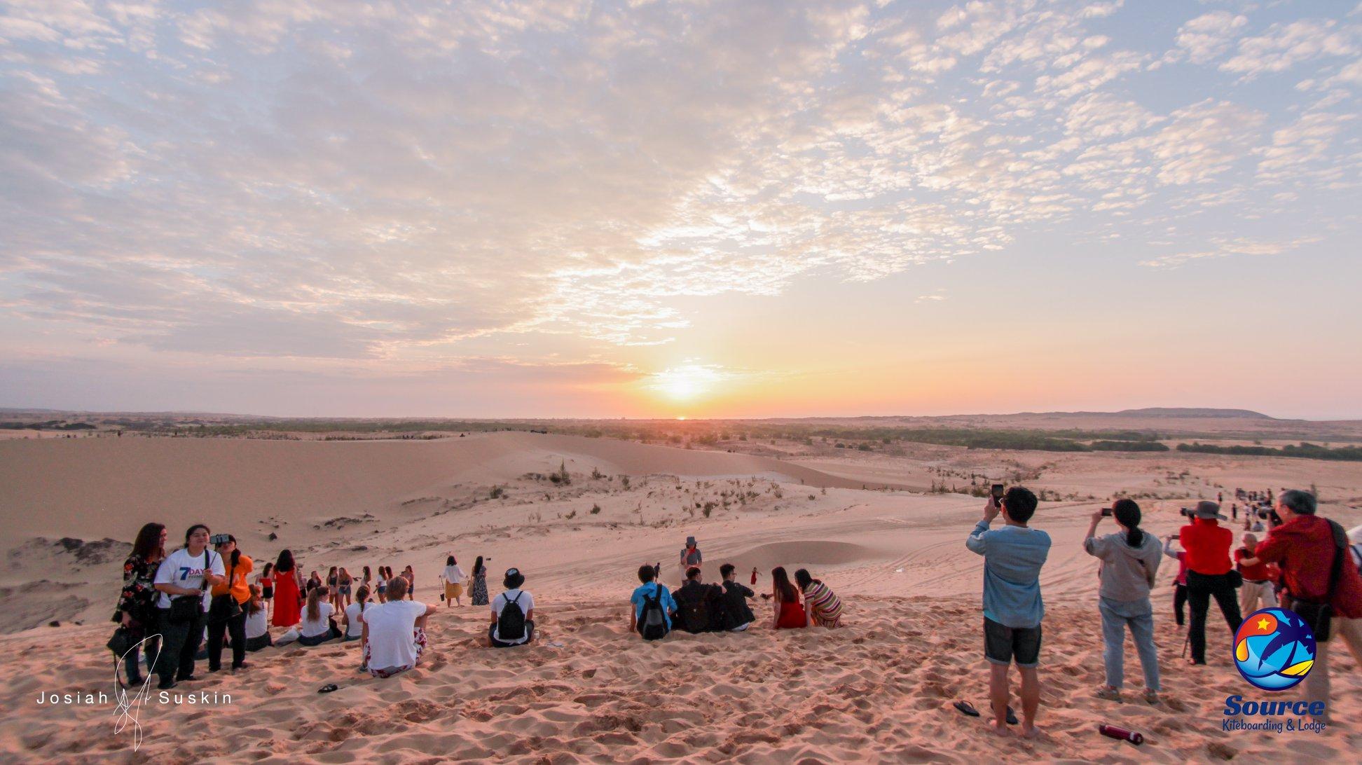 White Dunes sunrise