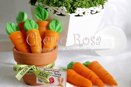 Sabonete Cenouras de Páscoa no Vasinho 2