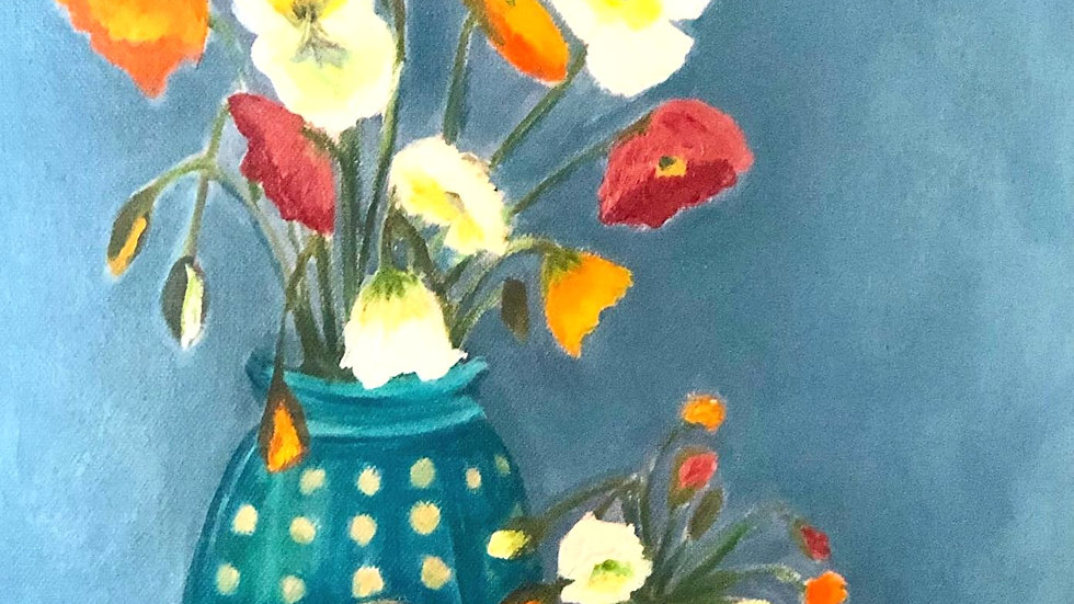 Poppies and Pears