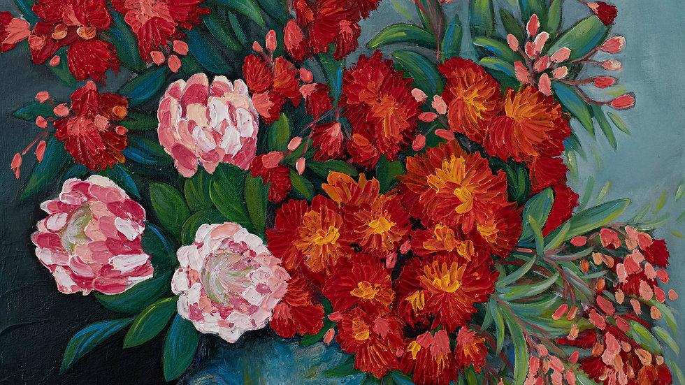 Protea & Flowering Gum