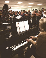 Rehearsing for Messiah