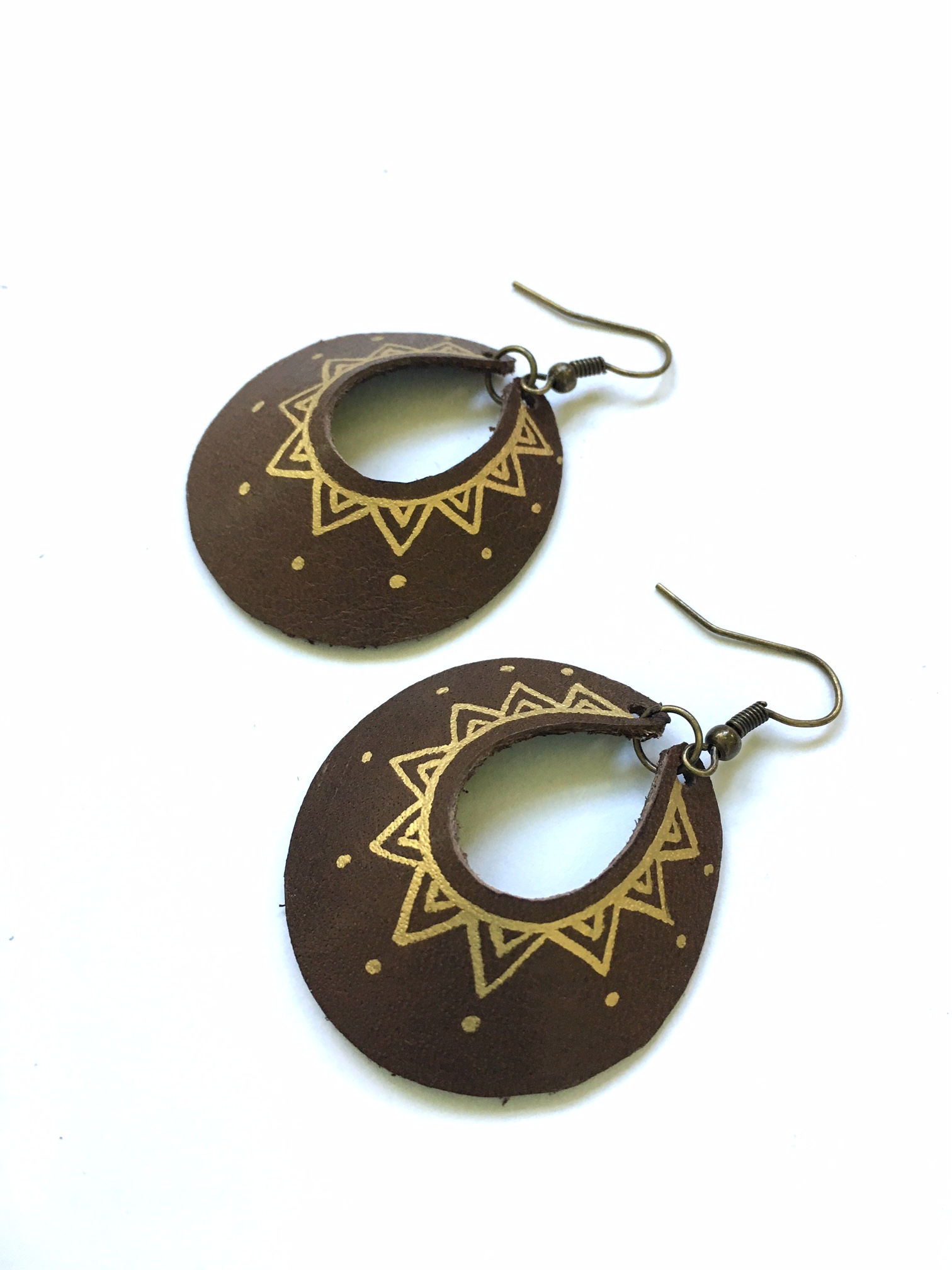 Brown Yum Hoops - small or large