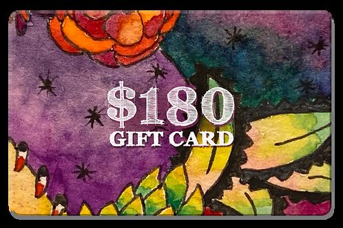 $180 Gift Card