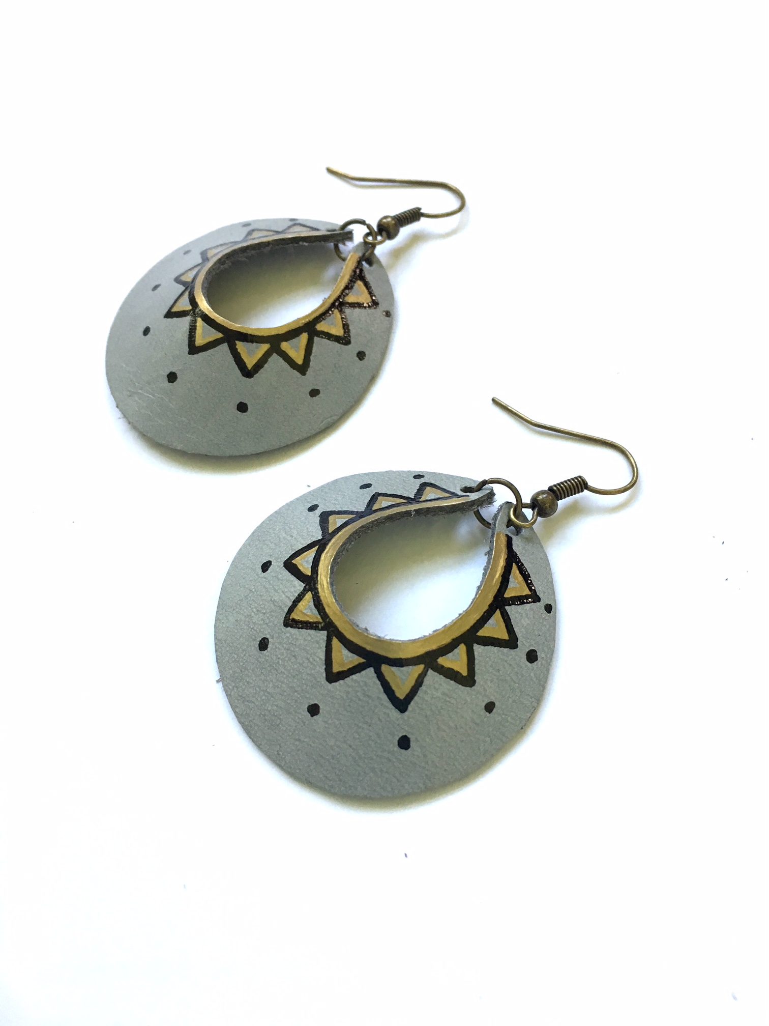 Gray Yum Hoops - small or large