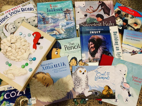 Inuits and Igloo Picture Book Companions