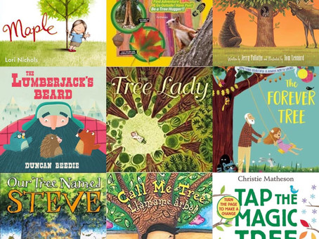 Planting Magic: Tree Books for ages 2-12