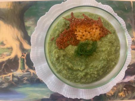 Vegan Spring Green Soup