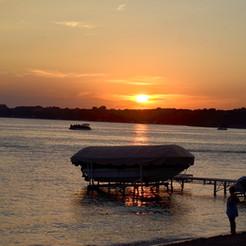 Sunset over waterama.jpg