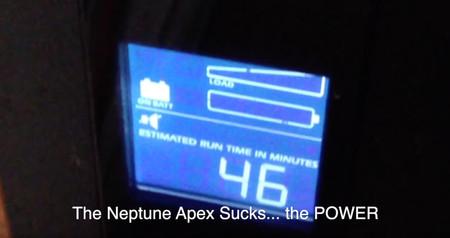 The Neptune Apex Sucks ... Power