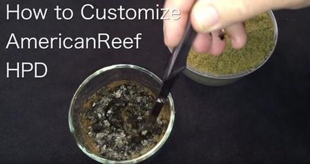 Customizing AmericanReef HPD - the best saltwater fish food
