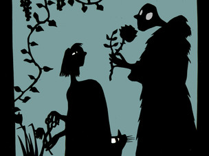 shadow puppets by Matthew Robins