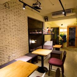 澳氏咖啡座位區