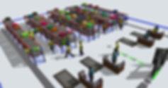 Flexsim storage simulation