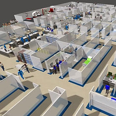 Hospital simulation Flexsim