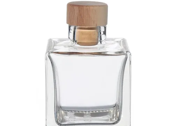 5 X 100 ML CUBE BOTTLES WITH CORK STOPPER