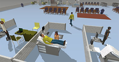 Flexsim healthcare simulation