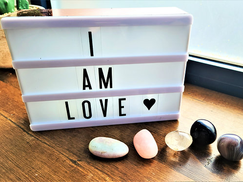I am Love ~ Intention setting Gemstones