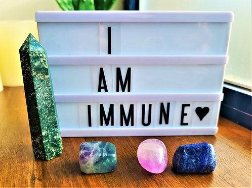 I Am Immune ~Intention Setting Gemstone Kit