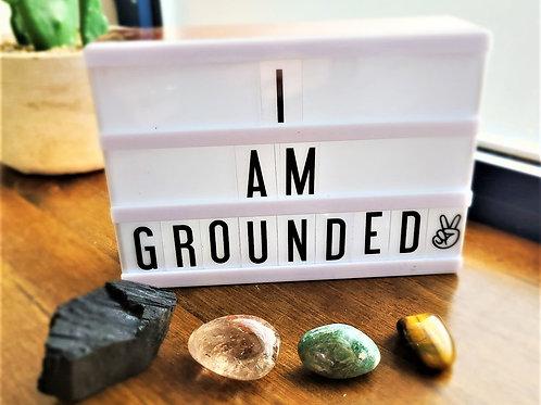 I Am Grounded ~ Intention Setting Kit Large