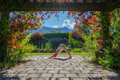 Out Door Yoga in the Sunshine