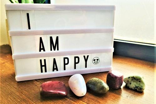 I Am Happy ~Intention Setting Gemstone Kit