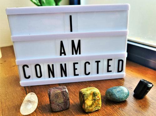 I Am Connected ~Intention Setting Gemstone Kit