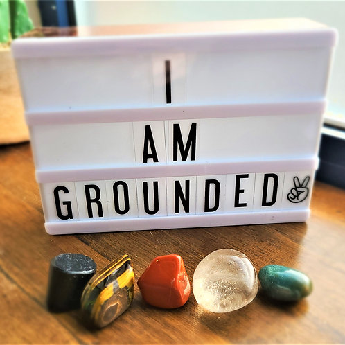 I Am Grounded ~ Intention Setting Kit