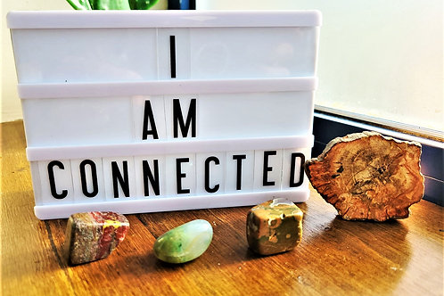 I Am Connected ~Intention Setting Gemstone Kit Large