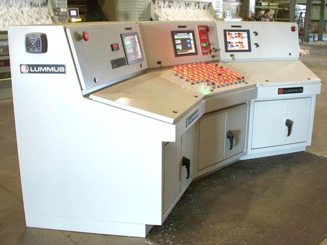 Main Control Console – 3-stand Gin Plant
