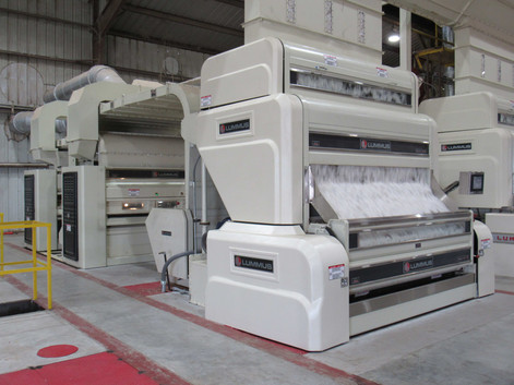 170 Ginning Line with Super-Jet® and tandem 108 Sentinel™ II Lint Cleaning