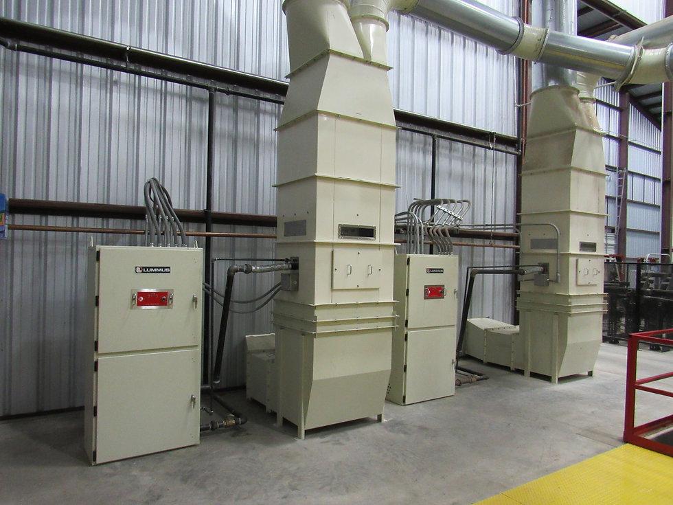8 mbtu push-type burners with push plenu
