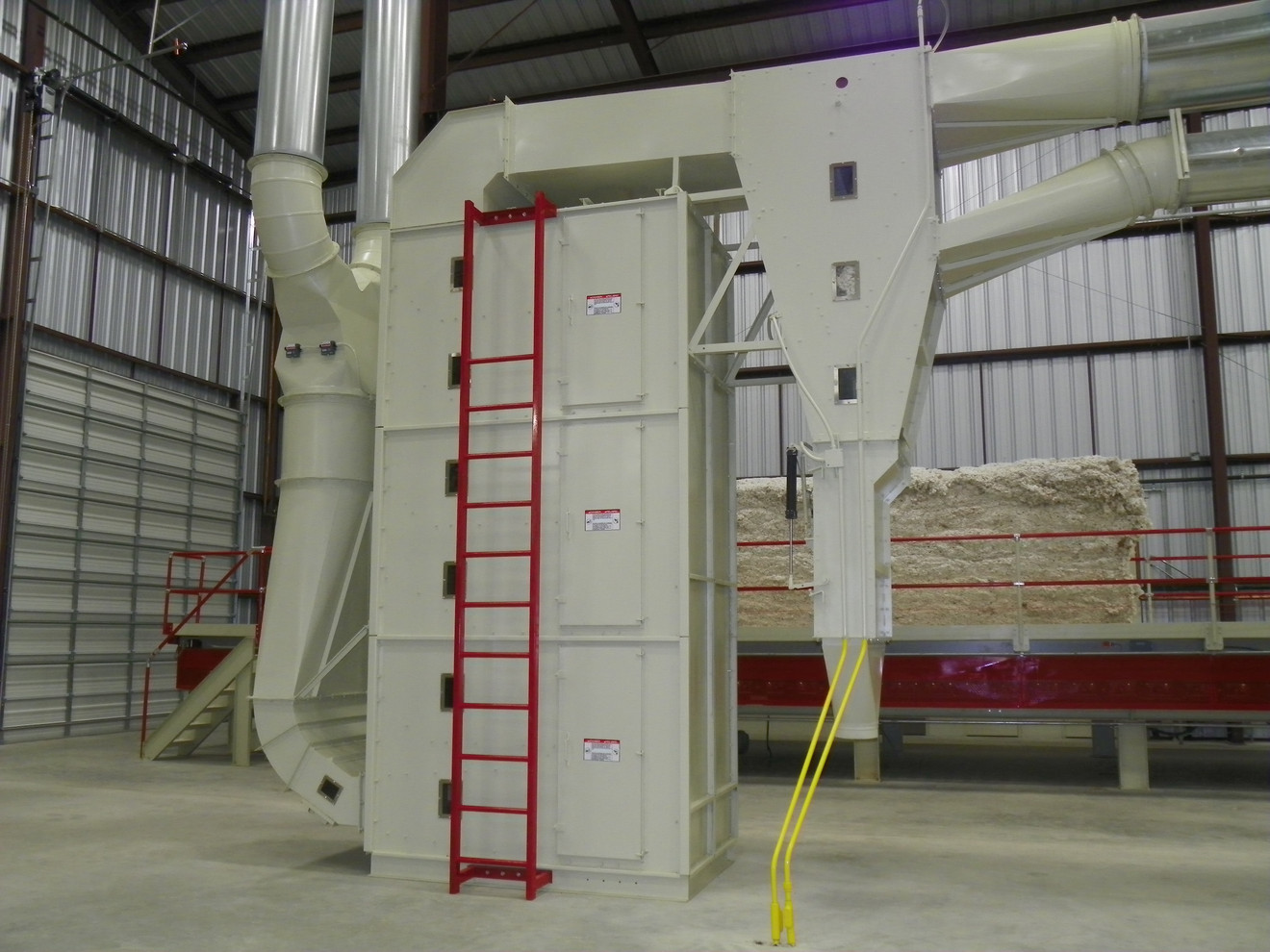 High-Volume Tower Dryer with Turbulent Dryer Trap