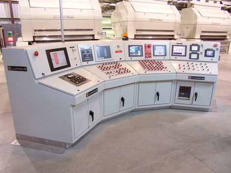 Main Control Console – 5-stand Gin Plant