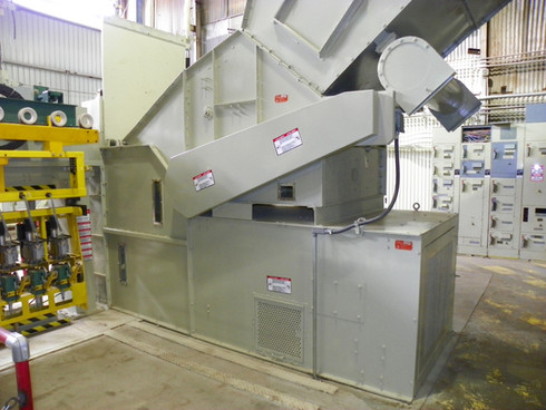 """Super Hi-Capacity Lint Feeder and Hydraulic Lint Pusher (54"""" wide)"""