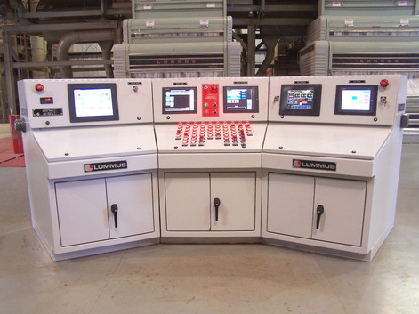 Main Control Console – 2-stand Gin Plant