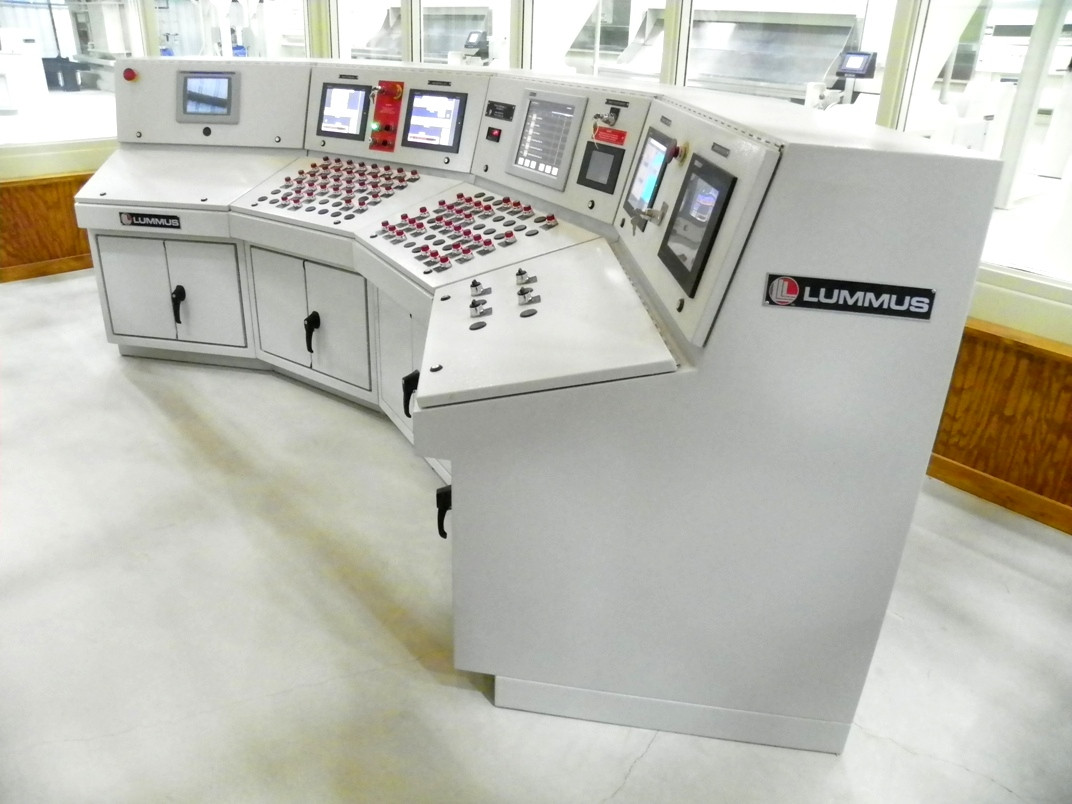 Main Control Console – 4-stand Gin Plant