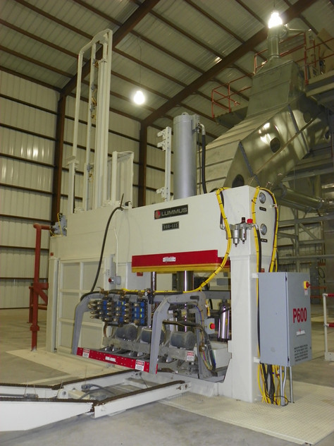 """Premier™ III Dor-Les® 20"""" x 54"""" UD Press (equipped with Samuel P600 strapping)"""