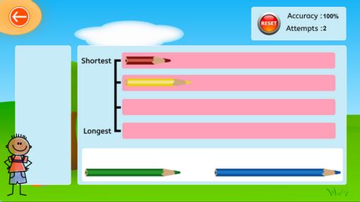 Longest/shortest - pencils