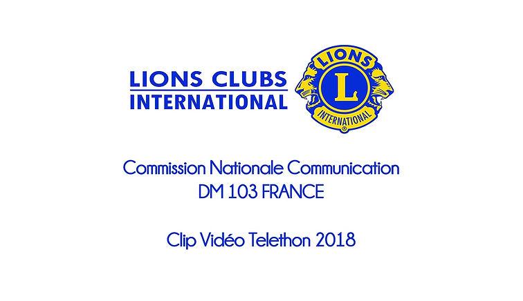 Clip Vidéo Téléthon 2018