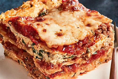 Meat Lasagna - Serves 3-6