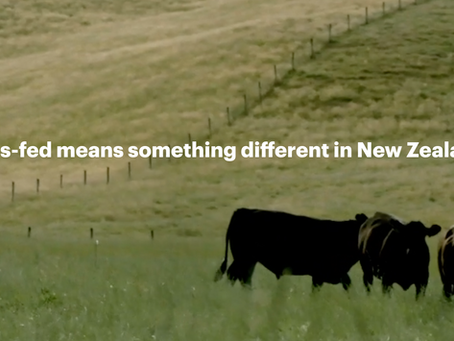 Grass-Fed from New Zealand's Silver Fern Farm