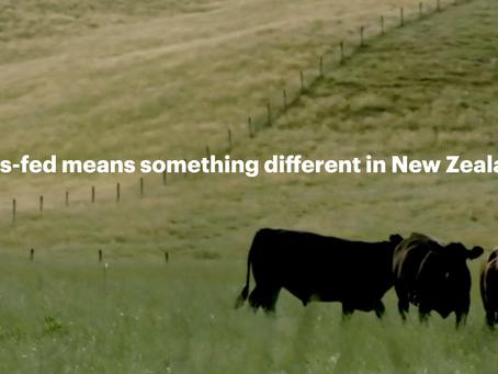 Grass-Fed from New Zealand's Silver Fern Farm