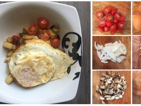 Quick and Healthy Eggs and Potatoes