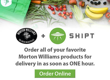 Order groceries online with Morton Williams and Shipt