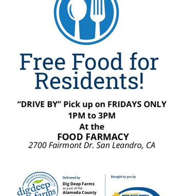 Free food for San Leandro residents.