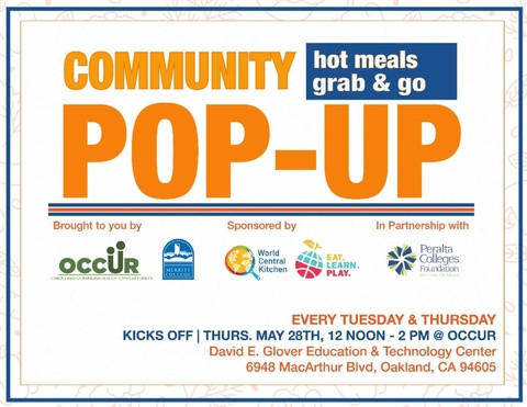 OAKLAND-COMMUNITY POP-UP HOT MEALS