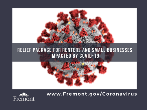 City of Fremont Announces Relief Package for Renters and Small Businesses Impacted by COVID-19